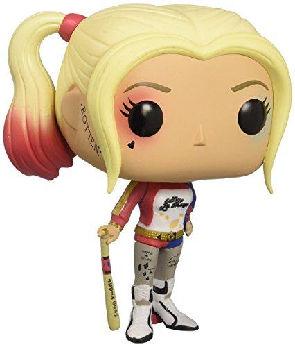Funko POP Movies: Suicide Squad Action Figure, Harley Quinn,Multi