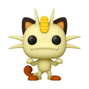 Funko POP Pop! Games: Pokemon - Meowth Vinyl Figure, Multicolor, Standard