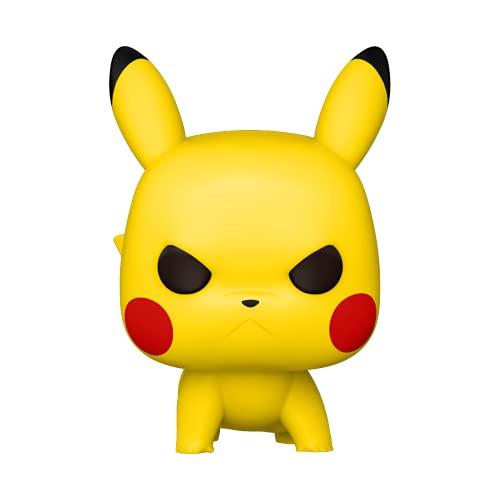 Funko POP Pop! Games: Pokemon - Pikachu (Attack Stance) Collectible Vinyl Figure, Multicolor, One Size