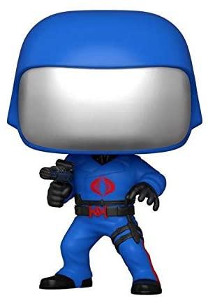 Funko POP! Retro Toys #47: G.I. Joe Cobra Commander in Original Action Figure Artwork Pose, GameStop Exclusive