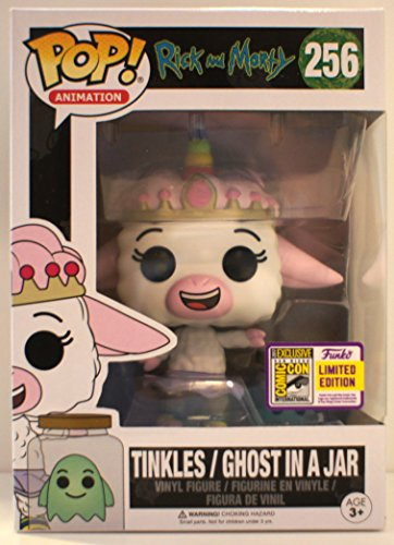 Funko POP! Rick and Morty - Tinkles & Ghost in a Jar Summer Convention Exclusive 2017 SDCC