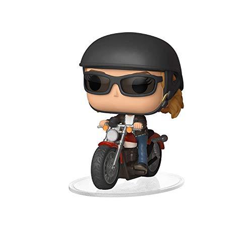 Funko POP! Ride Marvel: Captain Marvel - Carol Danvers on Motorcycle Toy, Standard, Multicolor