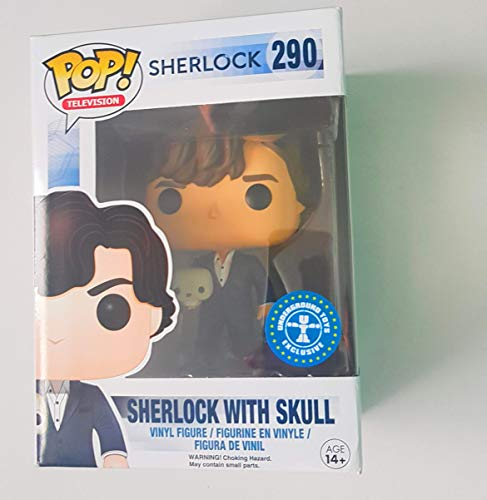 Funko POP! Sherlock with Skull #290
