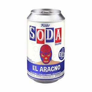 "Funko POP! Soda Marvel Luchadores Spider-Man 4.25"" Vinyl Figure in a Can"