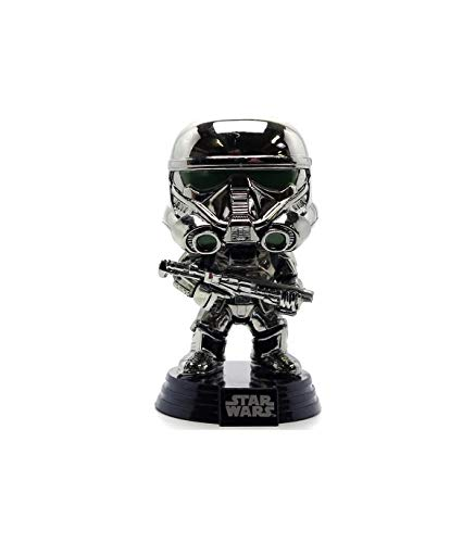 Funko POP Star Wars Rogue One Exclusive CHROME Imperial Death Trooper