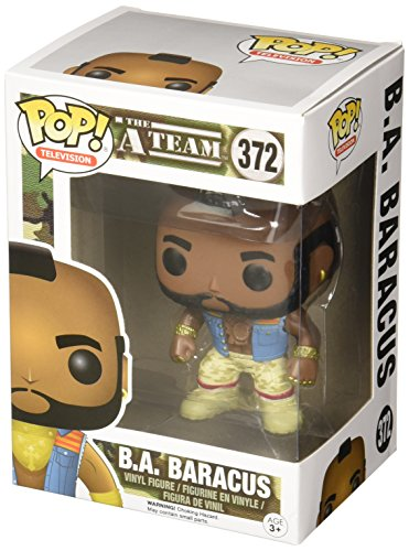 Funko POP TV: A-Team - B.A. Baracus Action Figure,Multi-colored,3.75 inches