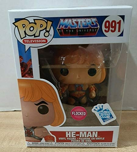 Funko POP! Television Master of The Universe #991 - He-Man Flocked Exclusive