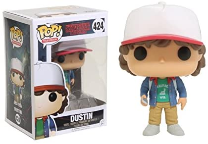 Funko POP Television Stranger Things Dustin with Compass Toy Figure