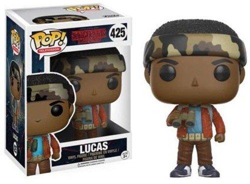Funko POP Television Stranger Things Lucas Toy Figure,Multi