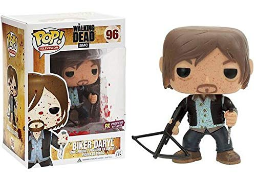 Funko POP! Television: The Walking Dead #96 - Biker Daryl {Bloody} (PX Previews Exclusive)