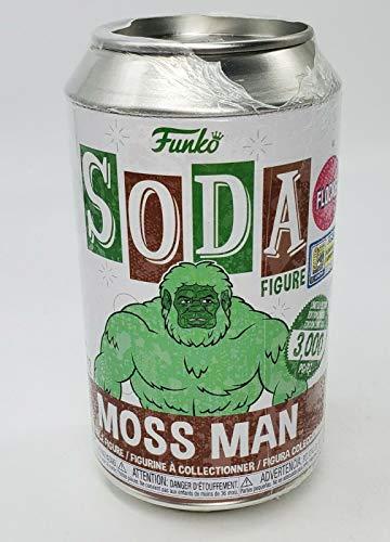 Funko POP! Vinyl Soda: Motu - Moss Man Flocked SDCC 2020 Shared Summer Convention Exclusive Soda Vinyl Figure