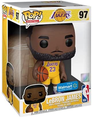 Funko POP! Yellow Home Jersey Lebron James 10 Inches Tall Walmart Exclusive
