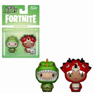 Funko Pint Size Heroes: Fortnite - Rex and Tricera Ops 2-Pack
