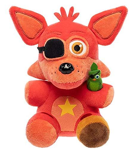 Funko Plush: Five Nights at Freddy's Pizza Simulator - Rockstar Foxy Collectible Figure, Multicolor