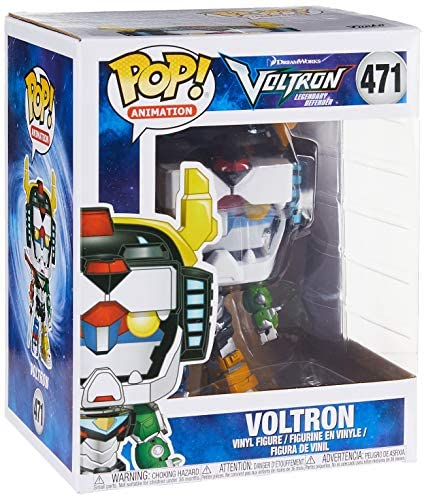 "Funko Pop 6"" Animation: Voltron-Voltron Collectible Figure, Multicolor - 34189"