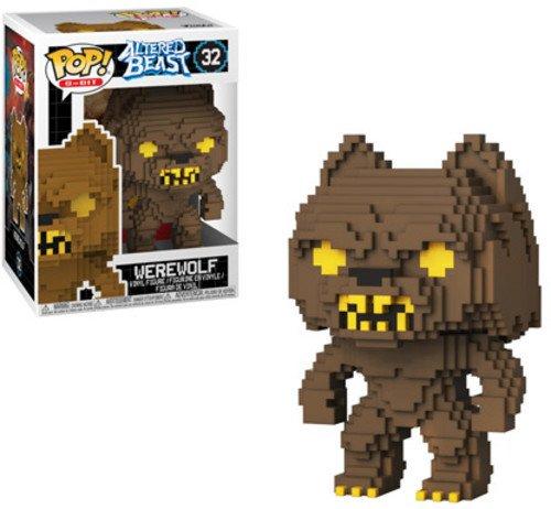 Funko Pop 8 Bit: Altered Beasts - Greek Warrior (Werewolf) Collectible Figure, Multicolor