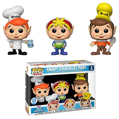 Funko Pop! Ad Icons 3 Pack Rice Krispies Snap! Crackle! Pop Shop Exclusive
