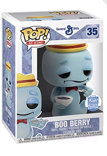 Funko Pop! Ad Icons #35 Boo Berry with Cereal Shop Exclusive