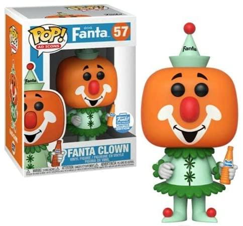 Funko Pop! Ad Icons Drink Fanta - Fanta Clown - #57 Funko Exclusive