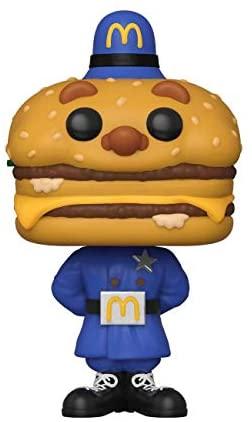 Funko Pop! Ad Icons: McDonald's - Officer Big Mac, Multicolor (45726)