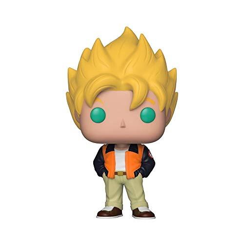 Funko Pop! Animation: Dragon Ball Z - Goku (Casual) Toy, Standard, Multicolor