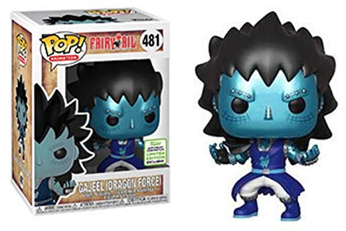 Funko Pop! Animation Fairytail Gajeel (Dragon Force) #481 2019 Spring Convention LE Exclusive