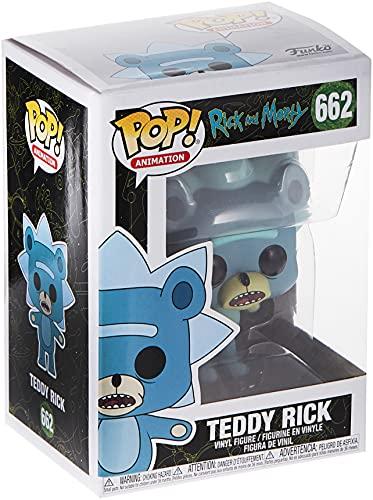 Funko Pop! Animation: Rick & Morty - Teddy Rick (Styles May Vary), Multicolor, std (44250)