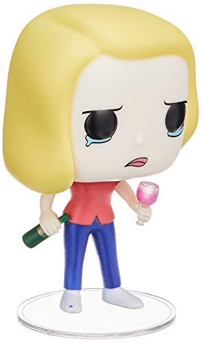 Funko Pop! Animation: Rick and Morty Beth with Wine Glass Collectible Figure
