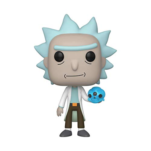 Funko Pop! Animation: Rick and Morty - Rick with Crystal Skull, Multicolor