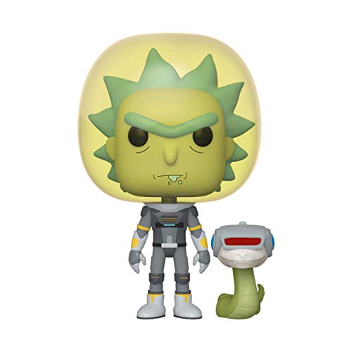 Funko Pop! Animation: Rick and Morty - Space Suit Rick with Snake, Multicolor