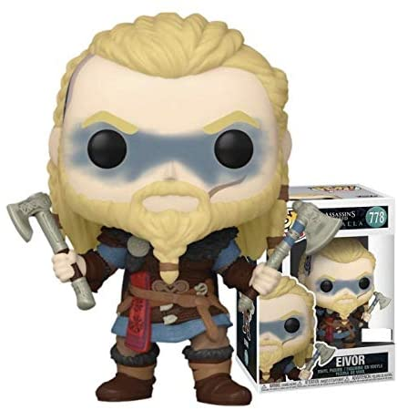 Funko Pop! Assassin's Creed Valhalla Eivor with Dual Axes Exclusive Figure