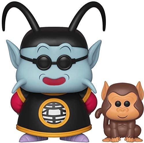 Funko Pop! & Buddy: Dragon Ball Z - King Kai & Bubbles Toy, Multicolor