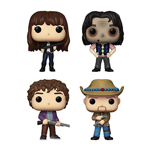 Funko Pop! Bundle of 4: Zombieland - Tallahassee, Columbus, Wichita and Bill Murray