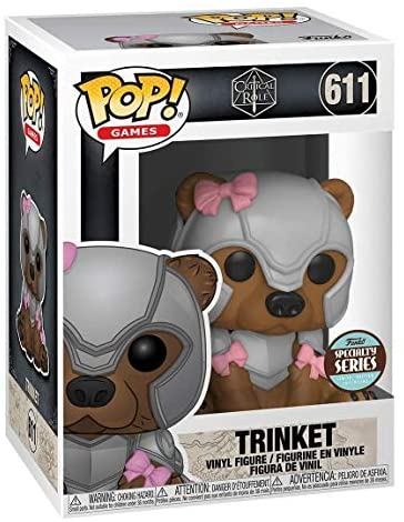 Funko Pop! Critical Role Vox Machina Trinket Armored Specialty Series Exclusive 611