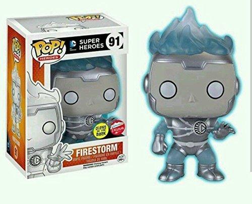 Funko Pop! DC Heroes White Lantern Firestorm (Glow in the Dark Exclusive)