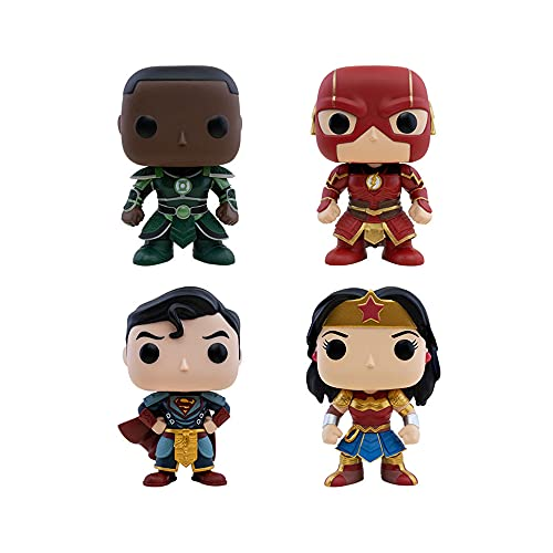 Funko Pop! DC Imperial Palace Set of 4: Green Lantern, The Flash, Wonder Woman and Superman