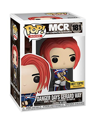 Funko Pop Danger Days Gerard Way Hot Topic Exclusive #181