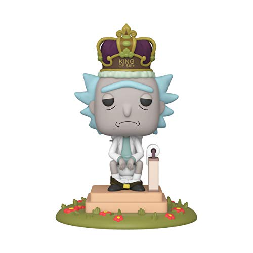 Funko Pop! Deluxe: Rick and Morty - King of $#!+ with Sound, Multicolour