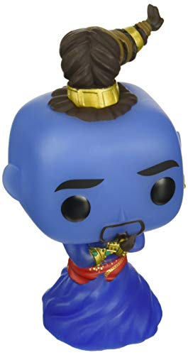 Funko Pop Disney: Aladdin Live Action - Genie (Glow in The Dark) Amazon Exclusive, Multicolor