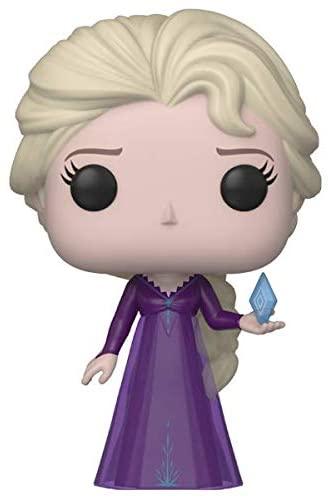 Funko Pop! Disney: Frozen 2 - Elsa, Into The Unknown Nightgown with Ice Diamond Vinyl Figure, Amazon Exclusive