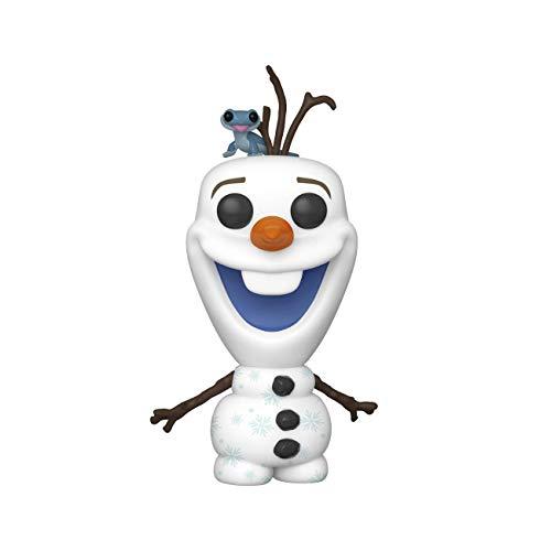 Funko Pop! Disney: Frozen 2 - Olaf with Fire Salamander, Multicolor, 3.75 inches