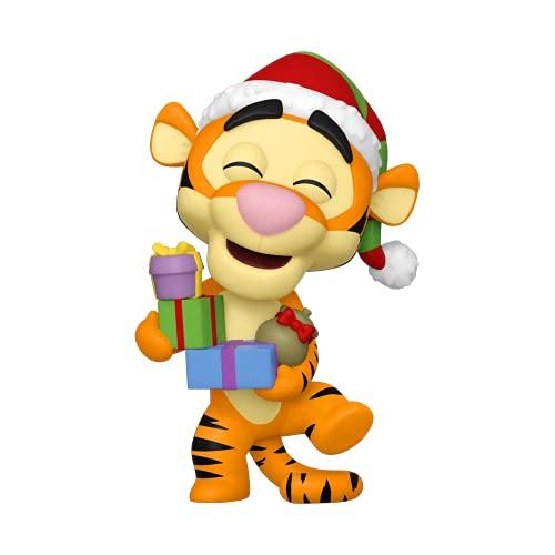 Funko Pop! Disney: Holiday 2021 - Tigger (Flocked), Amazon Exclusive