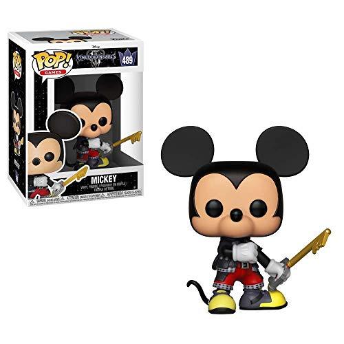 Funko Pop Disney: Kingdom Hearts 3 - Mickey Collectible Figure, Multicolor