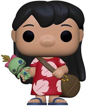 Funko Pop! Disney: Lilo & Stitch- Lilo with Scrump