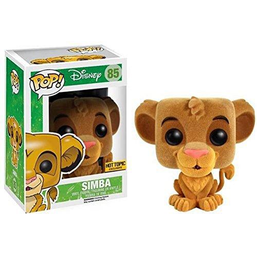 Funko Pop! Disney Lion King Flocked Simba - Hot Topic Exclusive