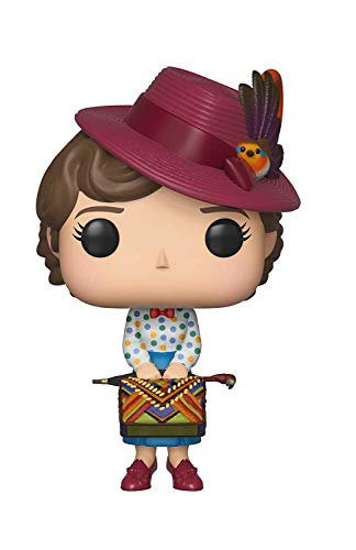 Funko Pop Disney: Mary Poppins - Mary with Bag, Multicolor