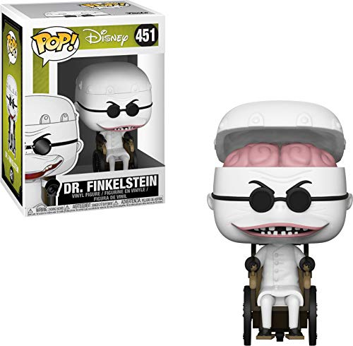 Funko Pop Disney: Nightmare Before Christmas - Dr. Finklestein Collectible Figure, Multicolor