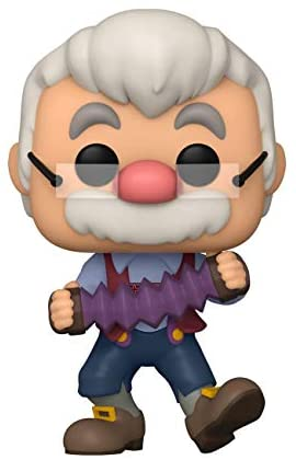 Funko Pop! Disney: Pinocchio - Geppetto with Accordion