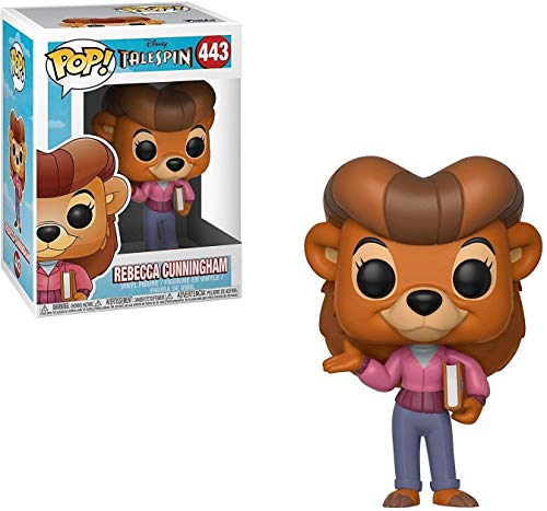 Funko Pop Disney: Talespin - Rebecca Cunningham Collectible Figure, Multicolor