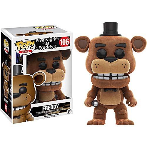 Funko Pop! FNAF Flocked Freddy Exclusive Vinyl Figure